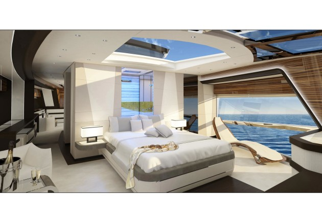 Круизная яхта Dominator 26M Ilumen
