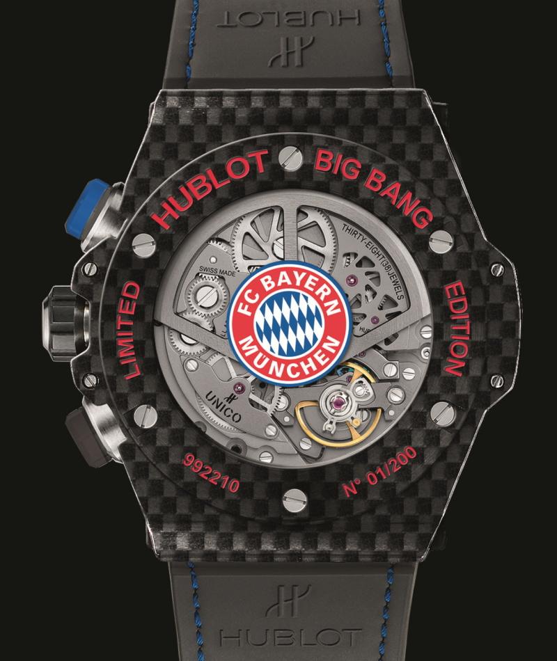 Hublot Big Bang Unico Bi-Retrograde FC Bayern Munchen 1