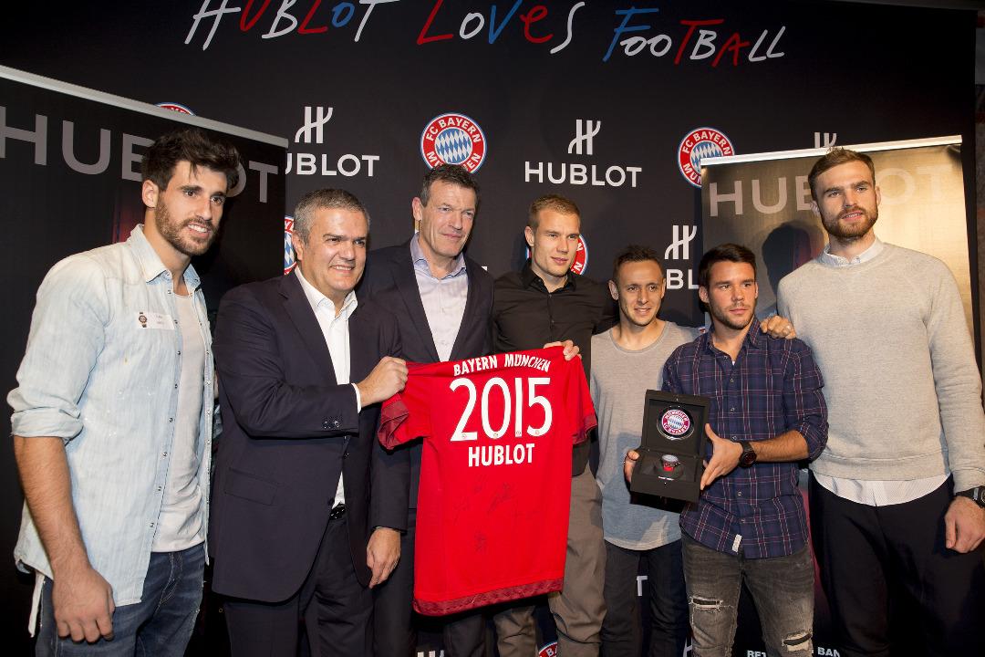 Hublot Big Bang Unico Bi-Retrograde FC Bayern Munchen launch