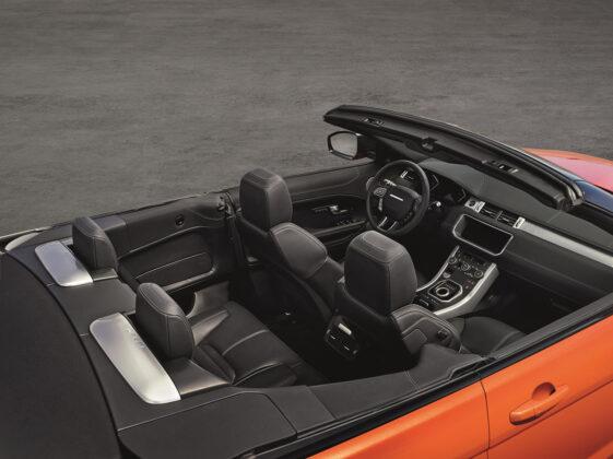 Джип-кабриолет Range Rover Evoque Convertible