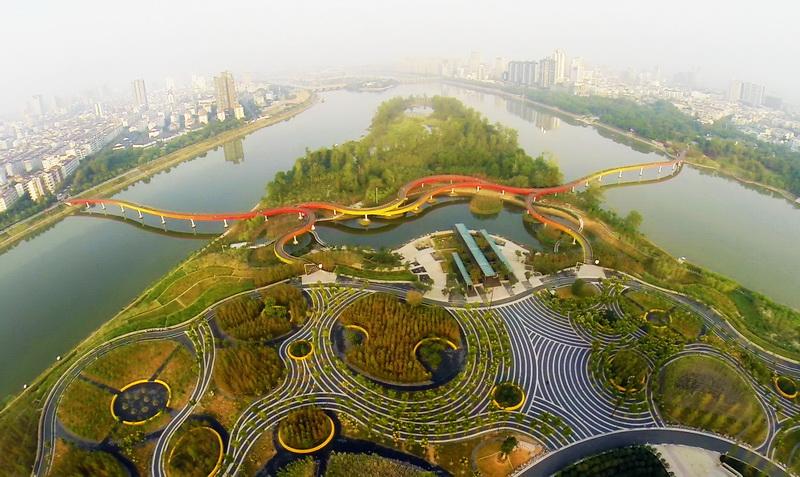 Yanweizhou Park China Turenscape International