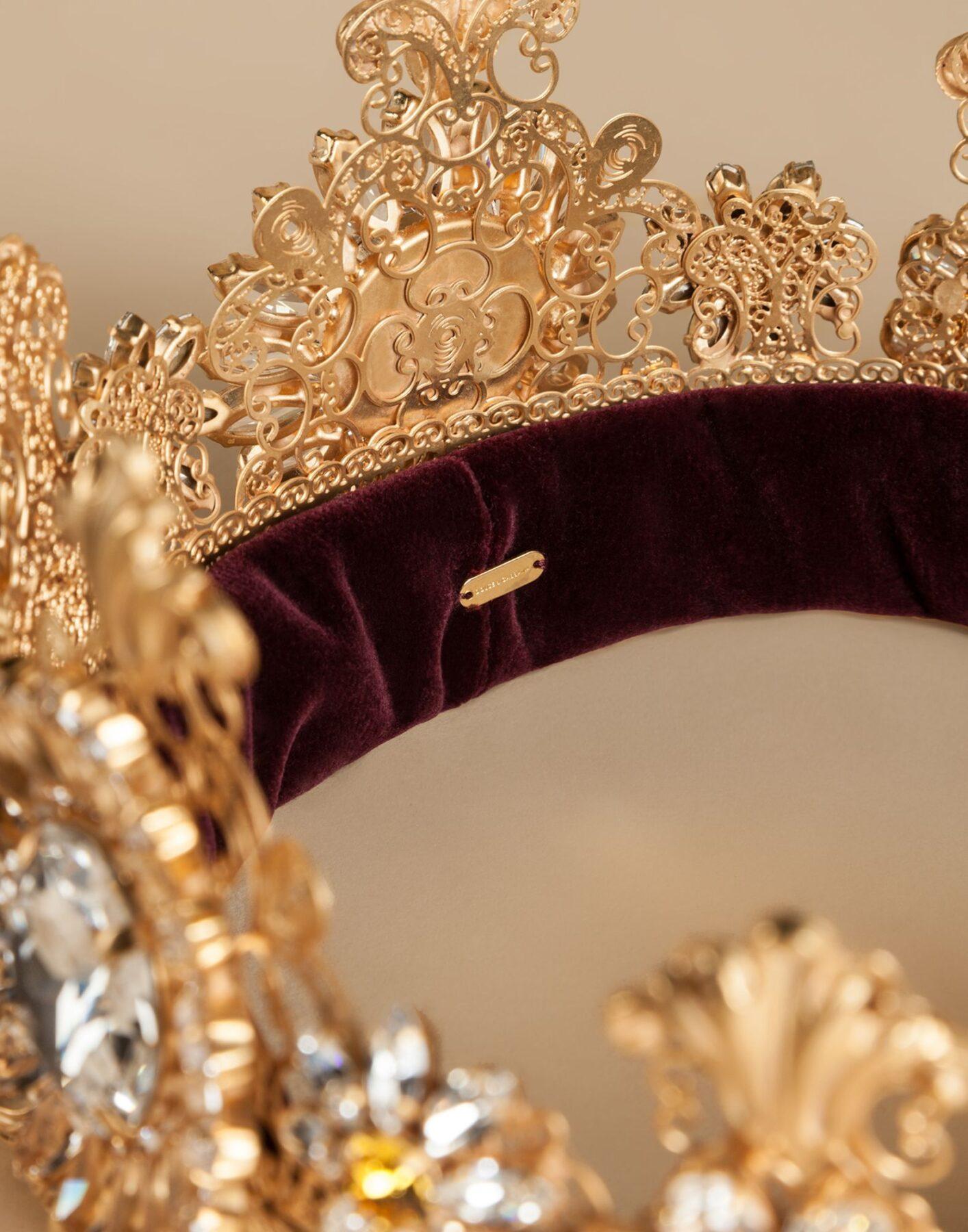 Корона Dolce & Gabbana в кристаллах Swarovski