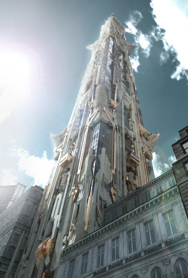Готический небоскреб украсит Нью-Йорк
