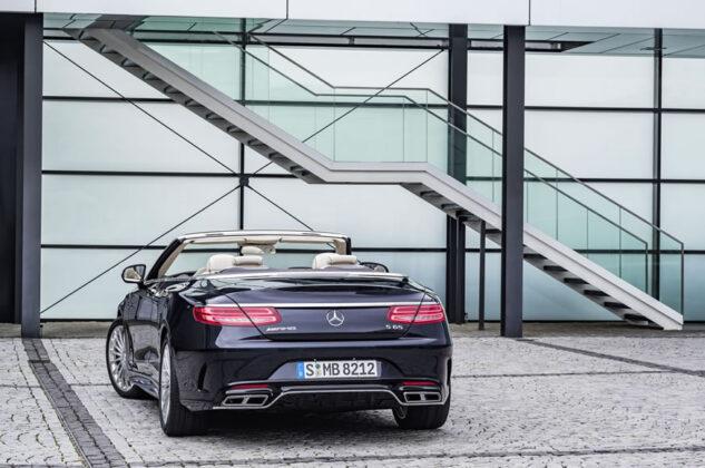 Самый роскошный кабриолет Mercedes-AMG