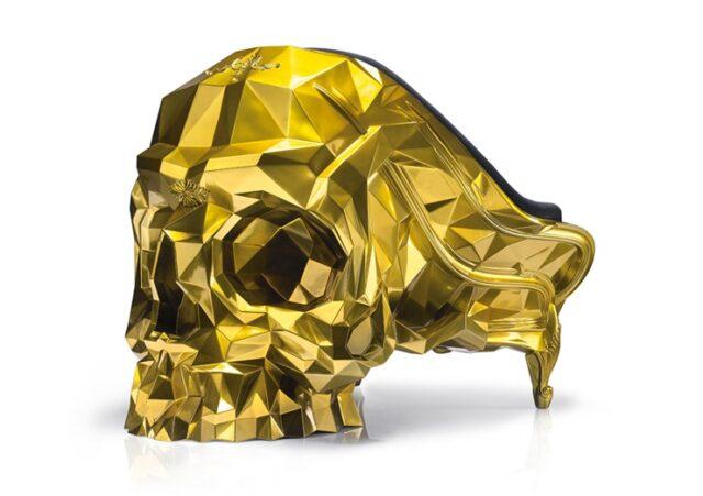 Золотой трон для миллиардера