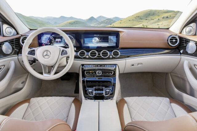 Новый Mercedes E Class 2017