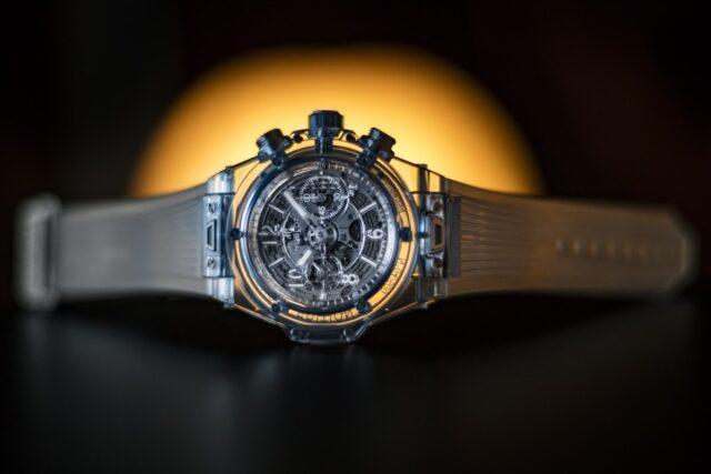Сапфировые часы Hublot Big Bang Unico Sapphire