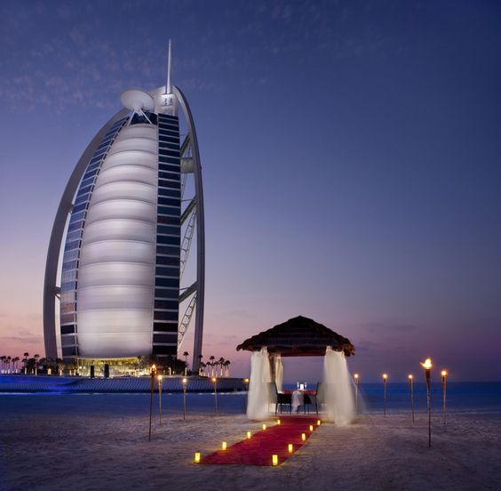 Jumeirah Beach Hotel_Romantic Dinner