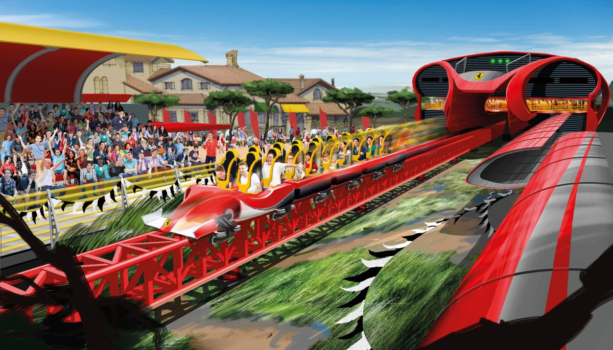 Ferrari Land- teaser