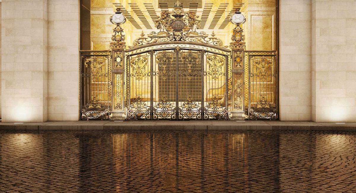 The 13 Hotel gate