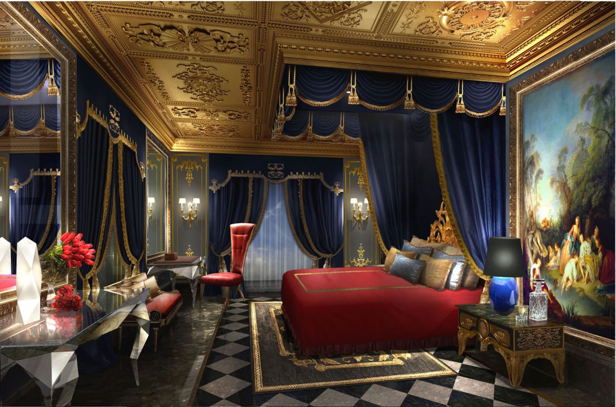 The 13 hotel bedroom for 7 mln dollars