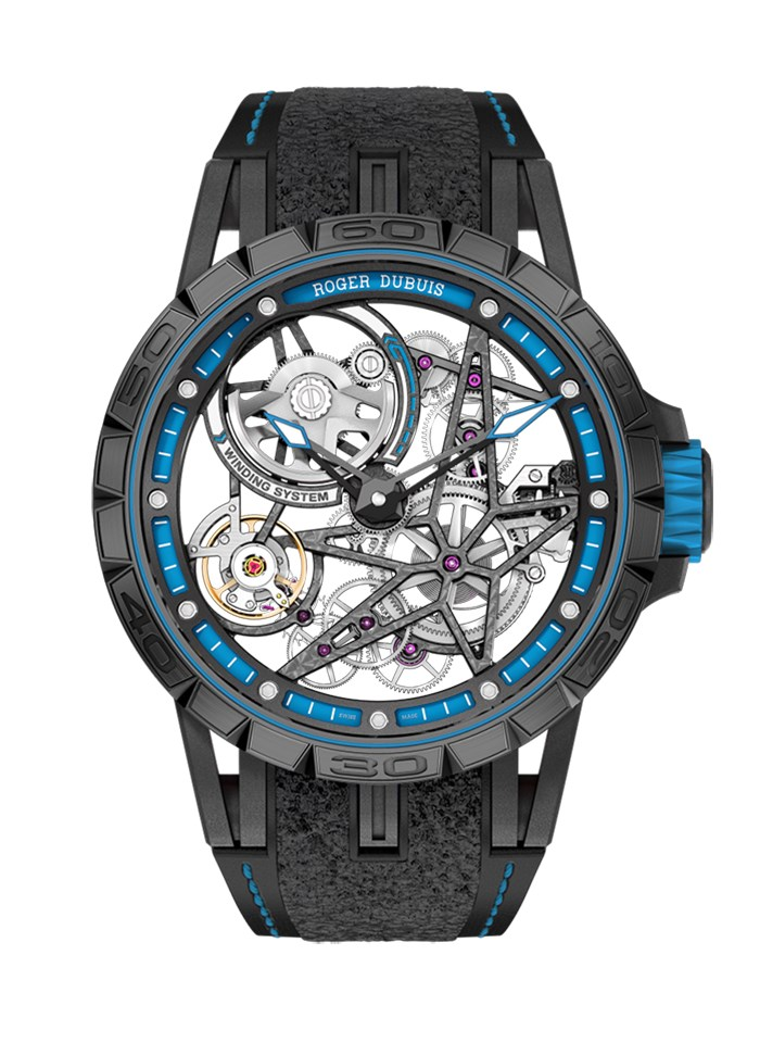 Excalibur-Spider-Pirelli-Automatic-skeleton-Blue