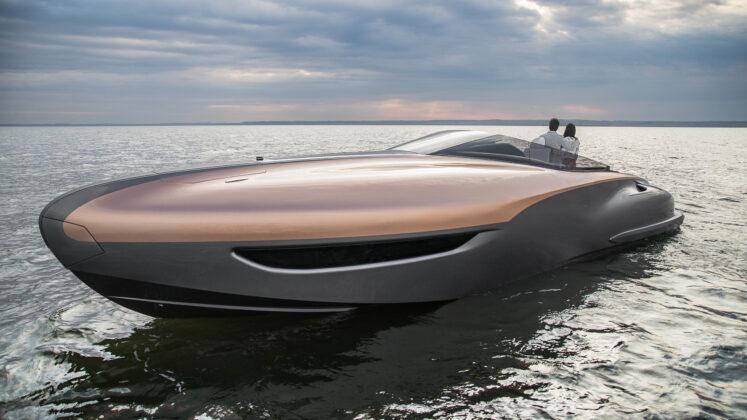 Спортивная яхта Lexus