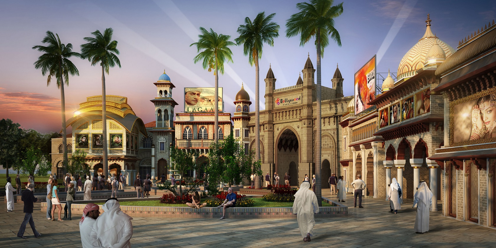 Bollywood Parks Dubai 1