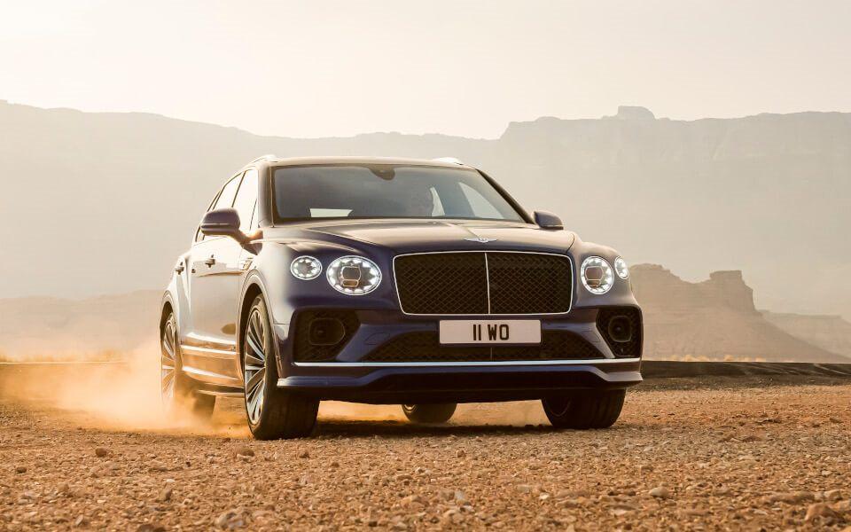 Bentley Bentayga Speed - мощнейший внедорожник