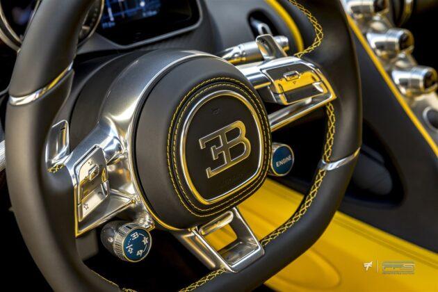 Bugatti Chiron Hellbee - роскошный Бамблби