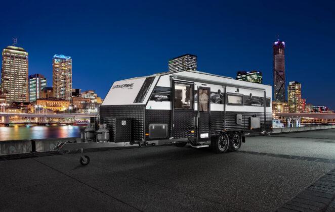 Лакшери-трейлер Lotus Caravans Off Grid 2020