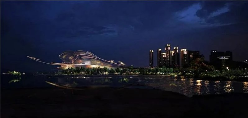 Самый большой оперный театр в мире в Китае