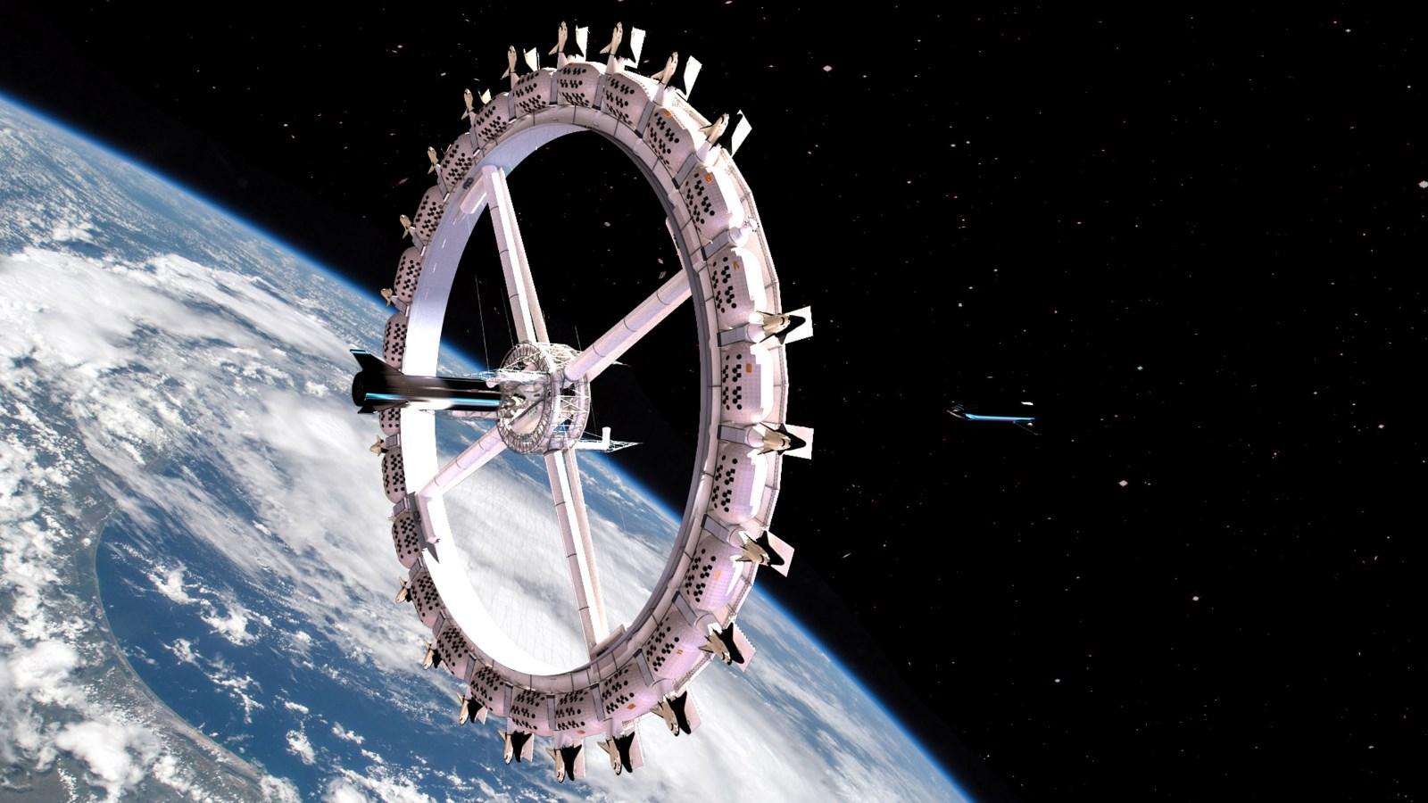 Вояджер - первый в мире космический отель